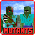New Zombie Mutants Creatures Mod For Craft Game icon