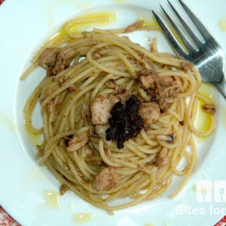 Tuna Spaghetti With Olive Oil Recipes