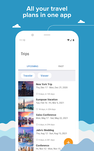 TripIt: Travel Planner 9.7.0 screenshots 1