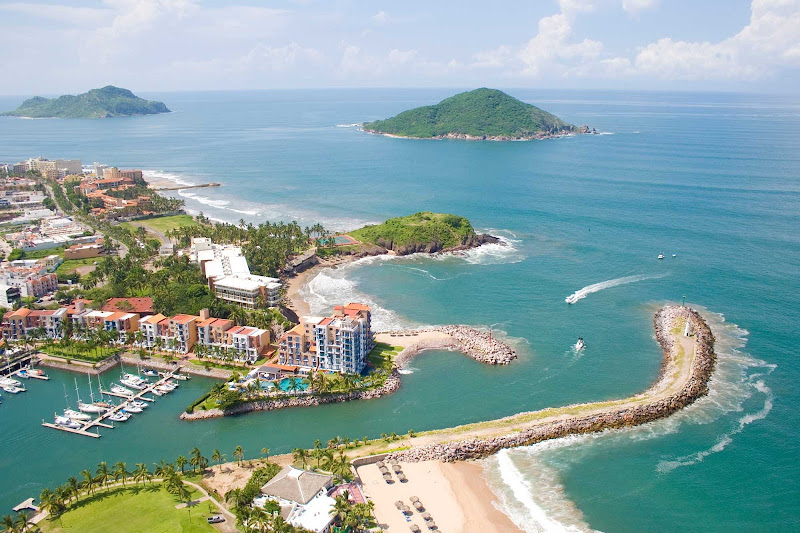 Marina El Cid, part of Mazatlan, Mexico.