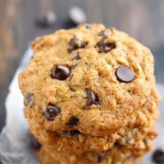 Toasted Coconut Chocolate Chip Oatmeal Cookies..