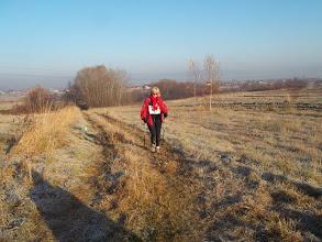 Zdjęcie: Włoszka Bożena z Toskani po raz pierwszy miała możliwość wystartowania na tak długim dystansie 42,195 km !
