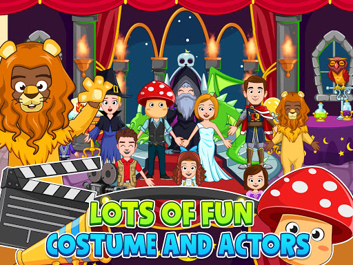 My Town : Cinema. Fun Movistar Kids Movie Night  screenshots 8