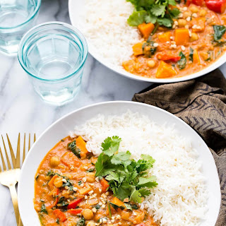Slow Cooker African Peanut Curry.