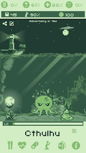 Cthulhu Virtual Pet Screenshot