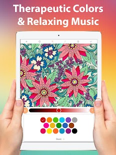 Color Matters Adult Coloring Book Therapy Screenshot Thumbnail