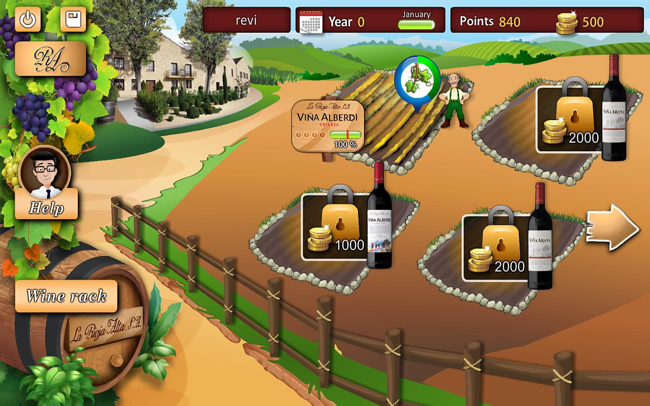 The Wine Garden- screenshot