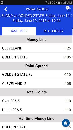 Sports Bettingu2122 Vegas Fantasy 3.5.3 screenshots 2