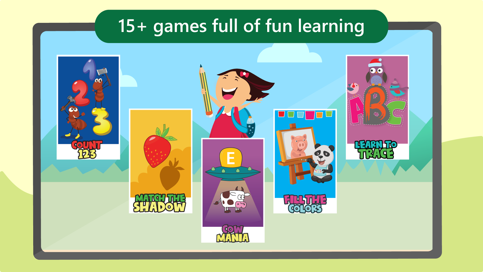 Worksheet Learning Games For Kids Typing Test kids preschool learning games android apps on google play screenshot