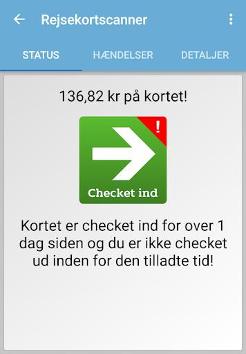 Rejsekortscanner  screenshots 4