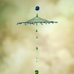 Umbrella by Ganjar Rahayu - Abstract Water Drops & Splashes ( waterdrop )