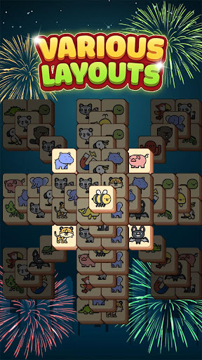 Tile Match Animal - Classic Triple Matching Puzzle apkpoly screenshots 6