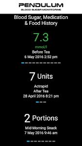Pendulum Blood Sugar Monitor v1.4