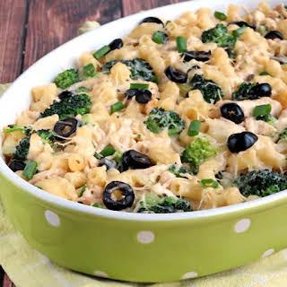 Chicken Broccoli Cheese Casserole.