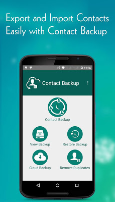 Contact Backup - screenshot