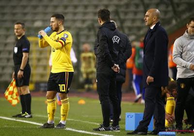 """Roberto Martinez inquiet : """"Eden Hazard doit être sur le terrain"""""""