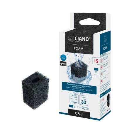 Filterpatron Ciano Foam S och M till CF40 och CF80