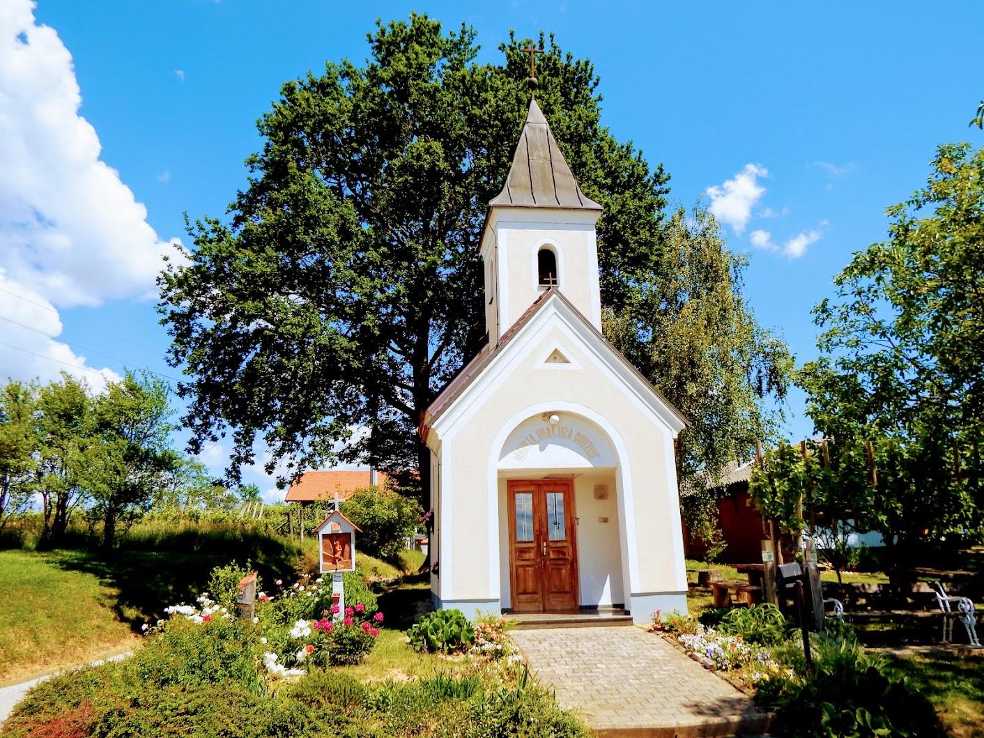 Filovci - Szűz Mária-kápolna keresztúttal a gaji szőlőhegyen - Kapelica Marije Kraljice družine + Križev pot v Gaju