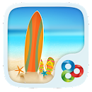Seaside Go Launcher Theme v v1.0