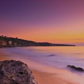 Pecatu Vibrant by Aris Setiarso - Landscapes Beaches