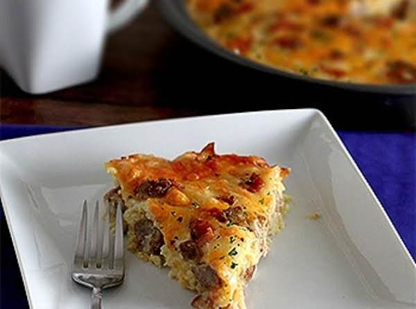 Amish Breakfast Casserole Photo Belongs To: Centercutcook.com