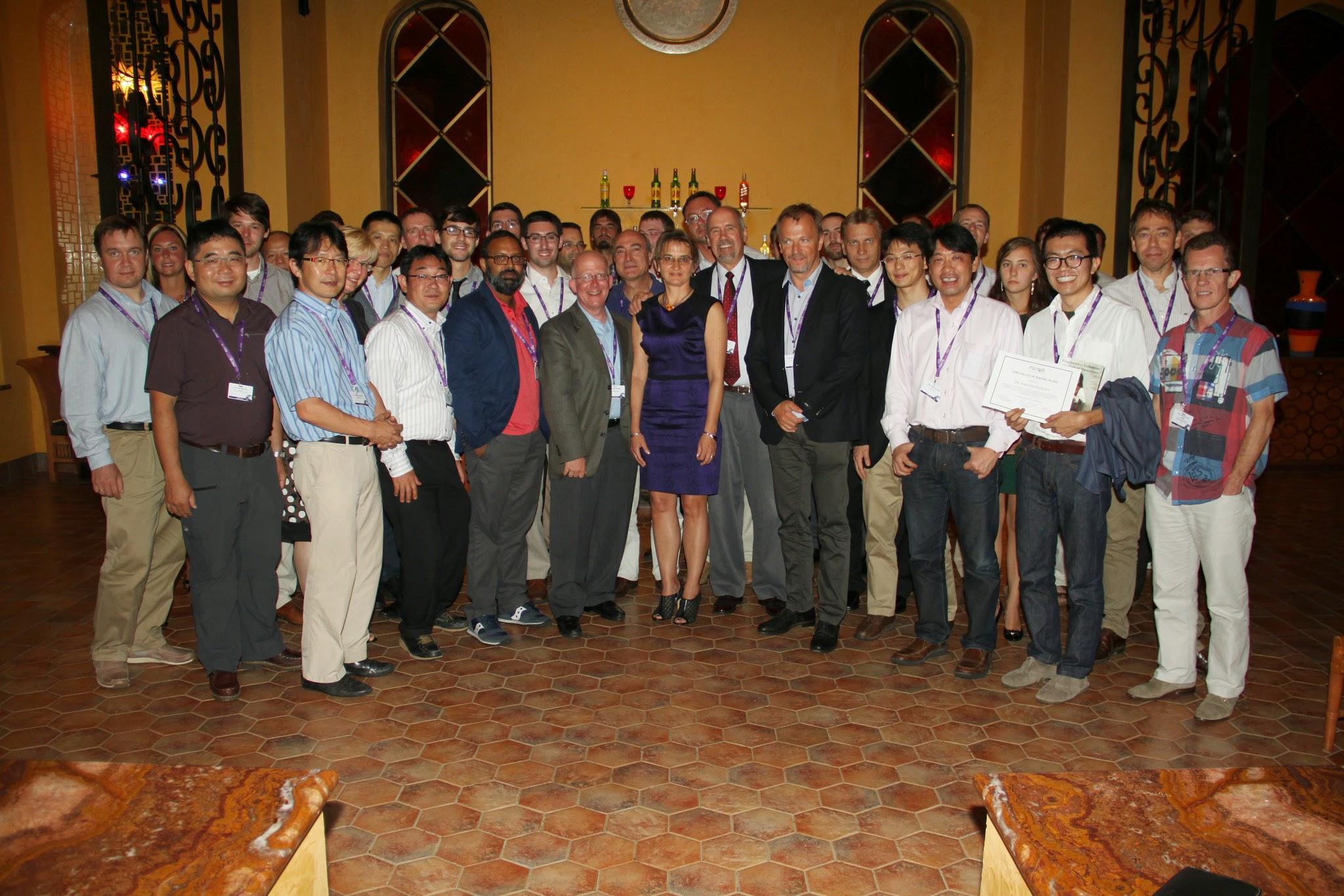 Photo: Group photo (Photo Credit: Fusion Conferences)