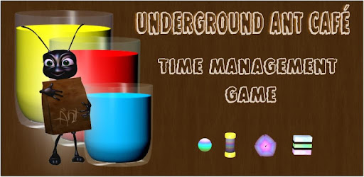 Serve colourful drinks to the ants in this time management game
