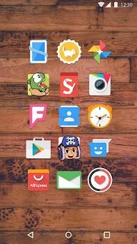 Mate UI - Material Icon Pack- gambar mini tangkapan layar