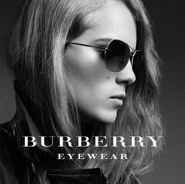Photo: Burberry presents British artist Marika Hackman wearing aviator sunglasses from the Spring/Summer 2012 eyewear collection
