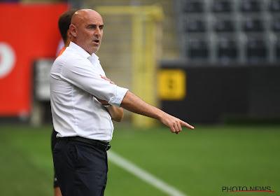 """STVV-trainer Muscat vond het allemaal nog zo slecht niet: """"Tot aan de eerste goal zaten we in de match"""""""