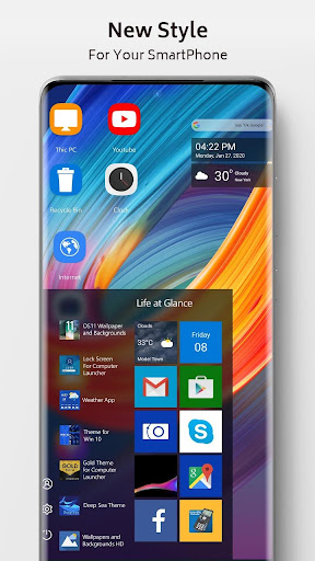 Infinix Zero Theme for Computer Launcher screenshots 2