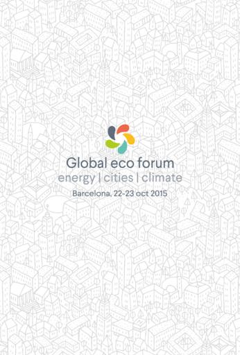 Global Ecoforum 2015