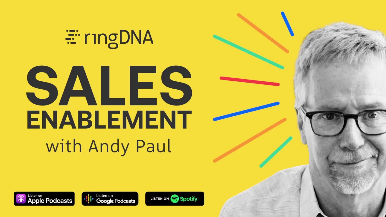 Top Sales Training Podcasts - The Sales Enablement Podcast with Andy Paul
