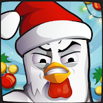 Angry Chicken: Christmas! Icon