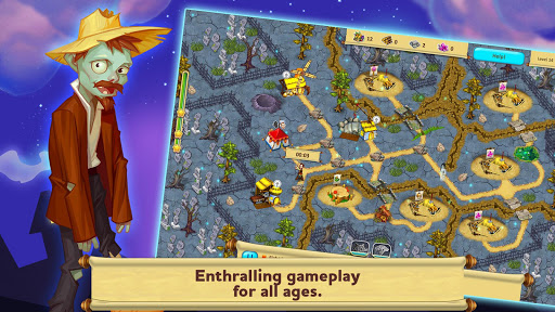 Gnomes Garden: Halloween screenshot
