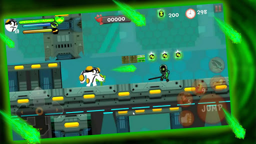Alien Power Surge: Superhero Protector Transform 1.0 screenshots 4