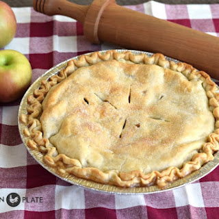 Freezer Apple Pie.