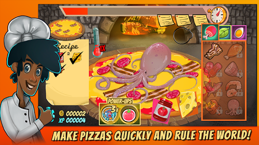 Code Triche Pizza Mania: Cheese Moon Chase APK MOD (Astuce) screenshots 1