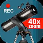 Telescope 40x icon