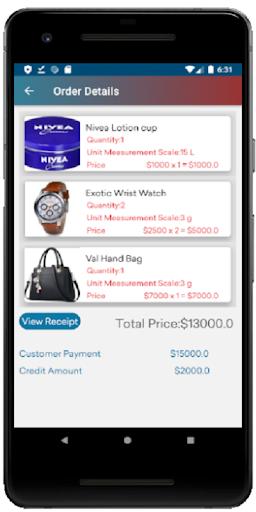 الهدف POS المخزون المجاني غير المتصل ونقاط البيع مع لقطات شاشة التقرير 8