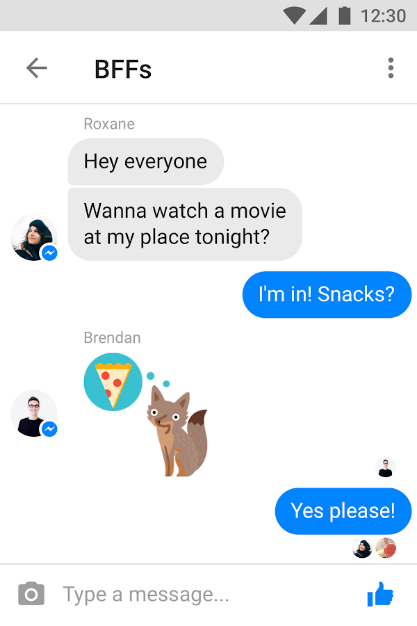 Messenger Lite- screenshot