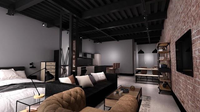 Imagen de uno de los nuevos apartamentos del Paseo.