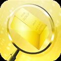 metal gold detector (prank) icon
