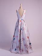 Robe de soirée Chloé dos, robe de soirée créateur, robe cocktail créatrice, robe mariage civil