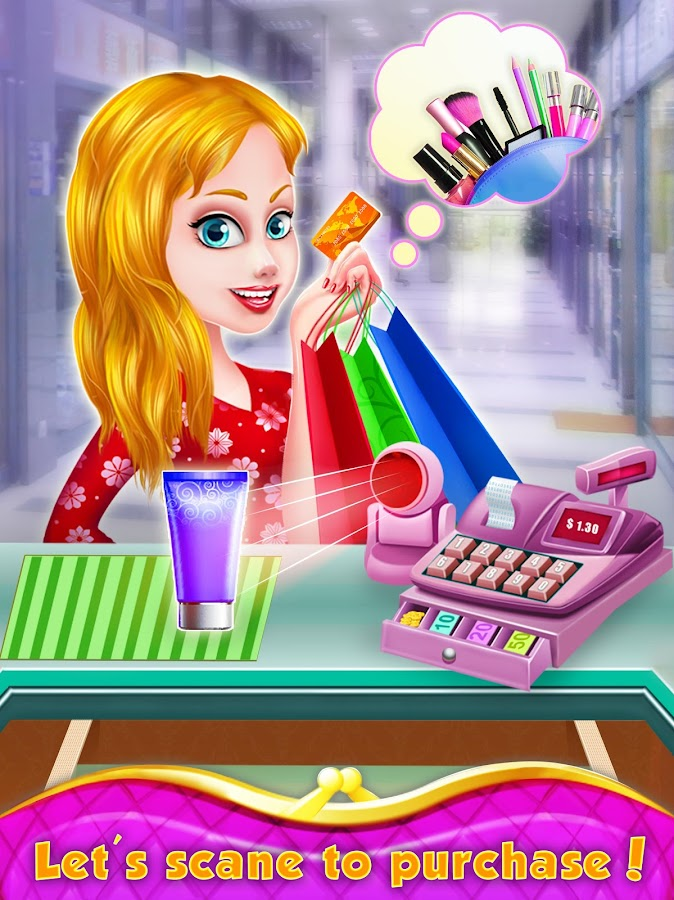 Star Girl Shopping Mall Games- screenshot