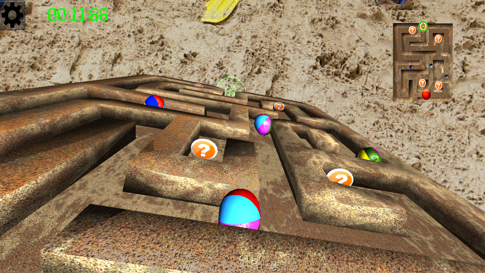 Gravity Maze 3D- screenshot