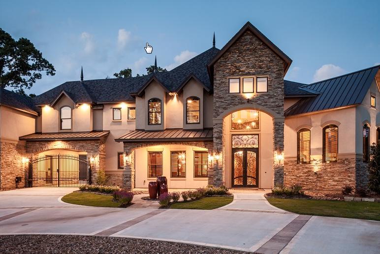 beautiful custom house