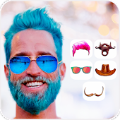 Man Mustache Beard Face Editor