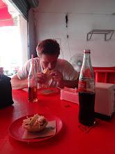 Photo: Občerstvení v městě Campeche.