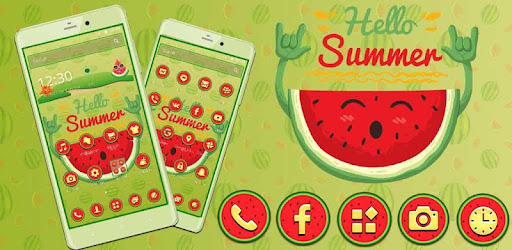 Приложения в Google Play – Yummy Watermelon Launcher Theme